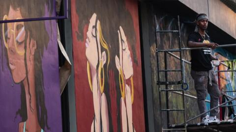 'It's a call to action to feel something.' Sacramento artist shares beauty through murals