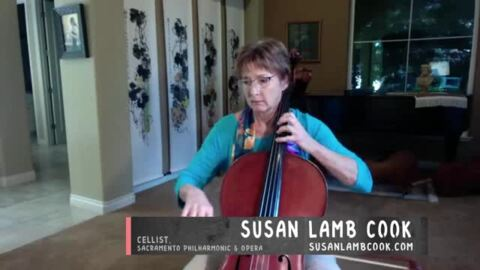 Band Together Live: Cellist Susan Lamb Cook