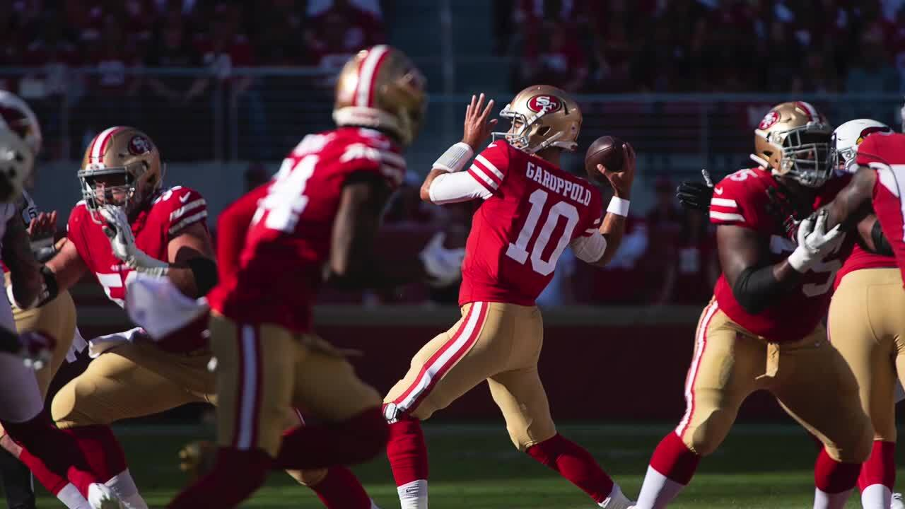 49ers' backups, including Oak Ridge's Ross Dwelley, take star turns in rally