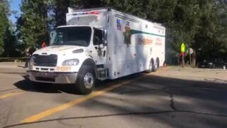 Placer County Sheriff investigation scene in Foresthill