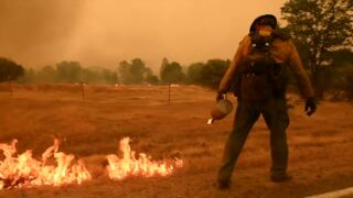 Interior Secretary Ryan Zinke tours Carr Fire