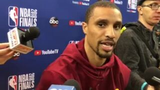 George Hill on going from the Kings to the NBA Finals: 'You couldn't write it up'