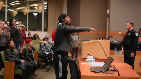 City Council meeting cut short after crowd demands to be heard