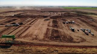 See drone footage of Hard Rock casino site near Marysville