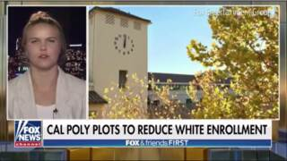 Watch Fox News' false report on Cal Poly's admissions