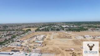 See the aerial view of Elk Grove's massive new Costco under construction