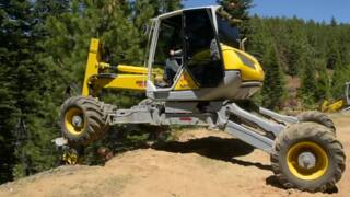 US Forest Service and Cal Fire show off equipment for steep-terrain fire suppression