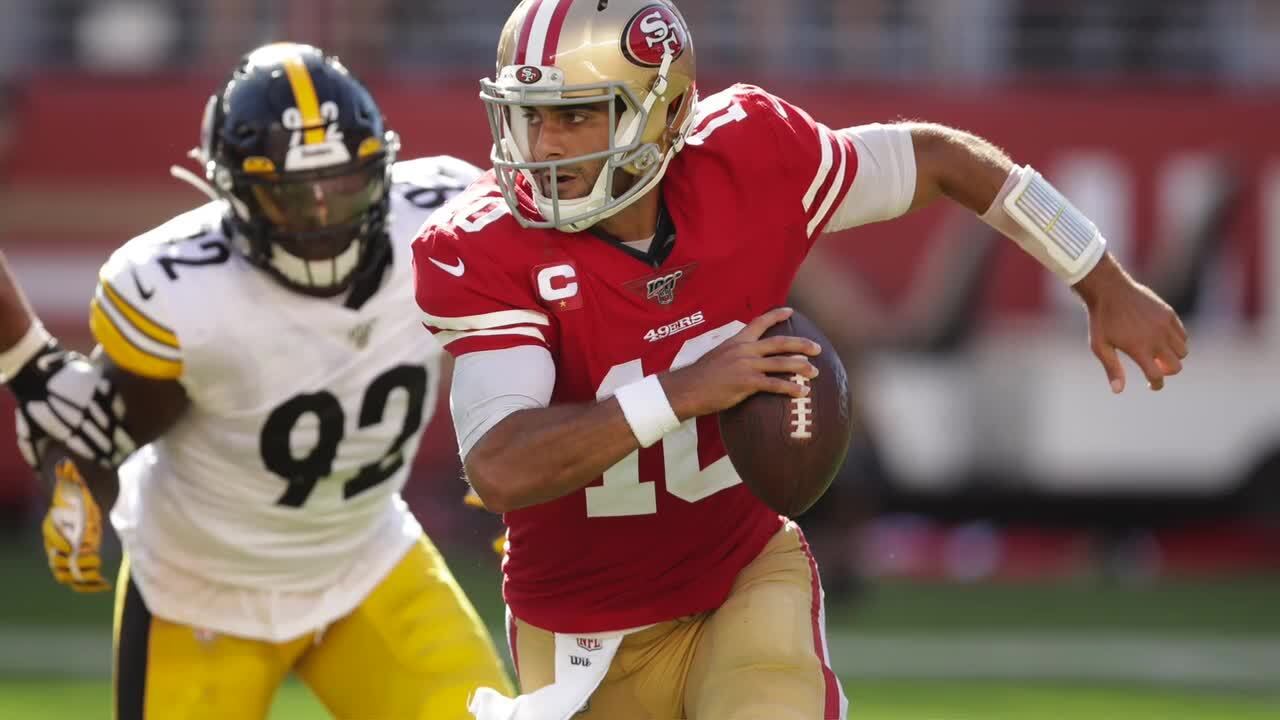 Despite fumbles and stumbles, 49ers find a way to maintain their rare unbeaten start