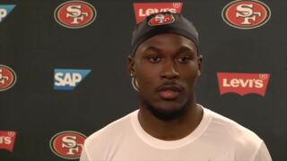 49ers rookie Tarvarius Moore on switch from safety to corner: 'Going to be a process'