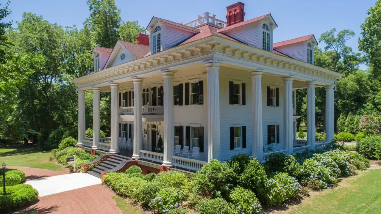 Georgia antebellum home inspired 'Gone With The Wind ...