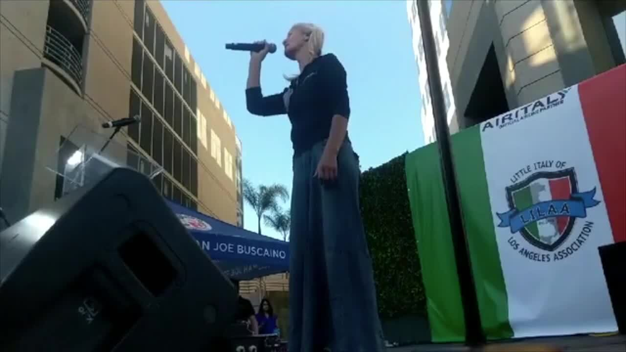Encore! Listen again to L.A. homeless woman singing opera after viral video