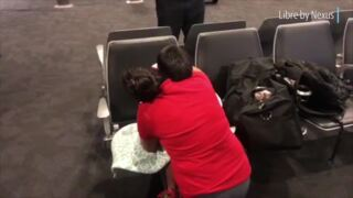 Emotional video shows immigrant mother, 7-year-old son reunited at airport