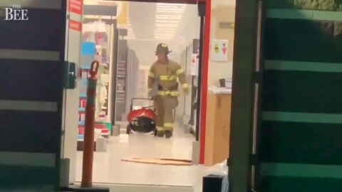 Fire, 'heavy smoke' forced Thursday night evacuation of Target store in Arden Arcade