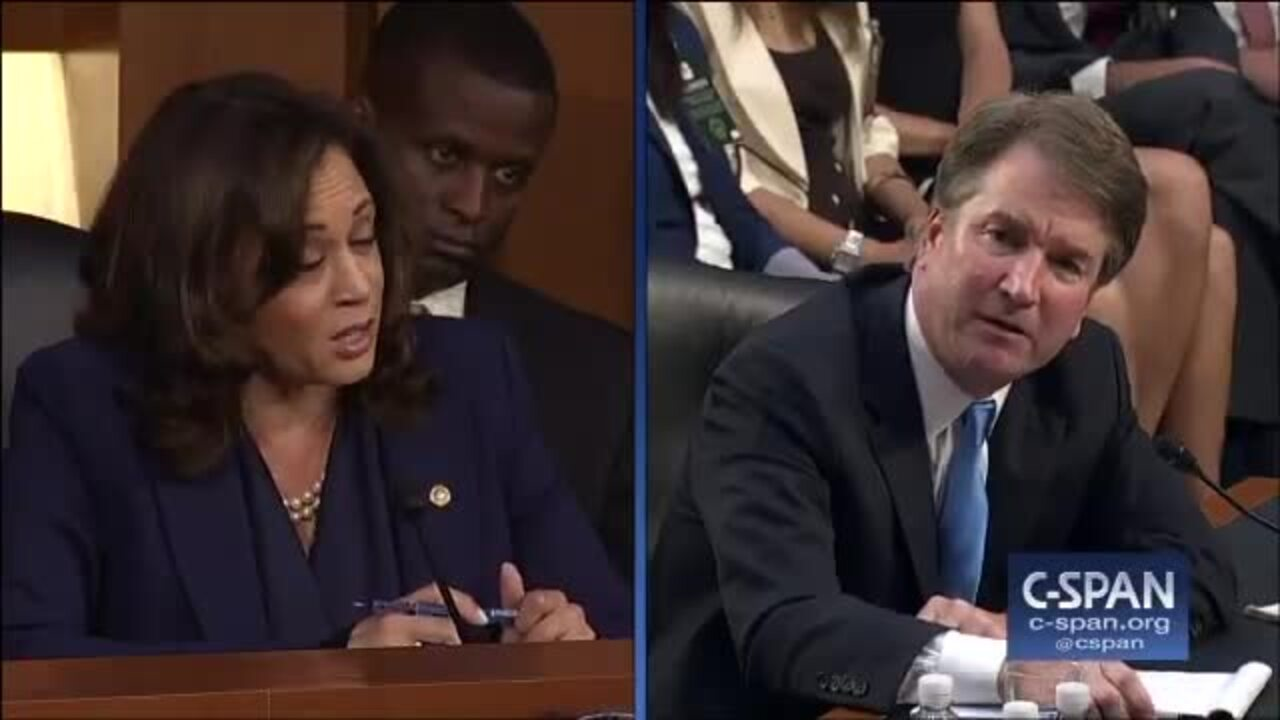 Potential 2020 contender Kamala Harris uses Kavanaugh to help at-risk Democrats