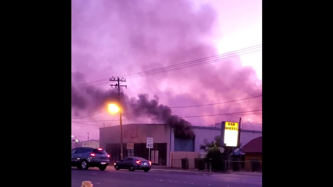 Wedding, quinceañera dresses go up in flames at party store on Crows Landing Road
