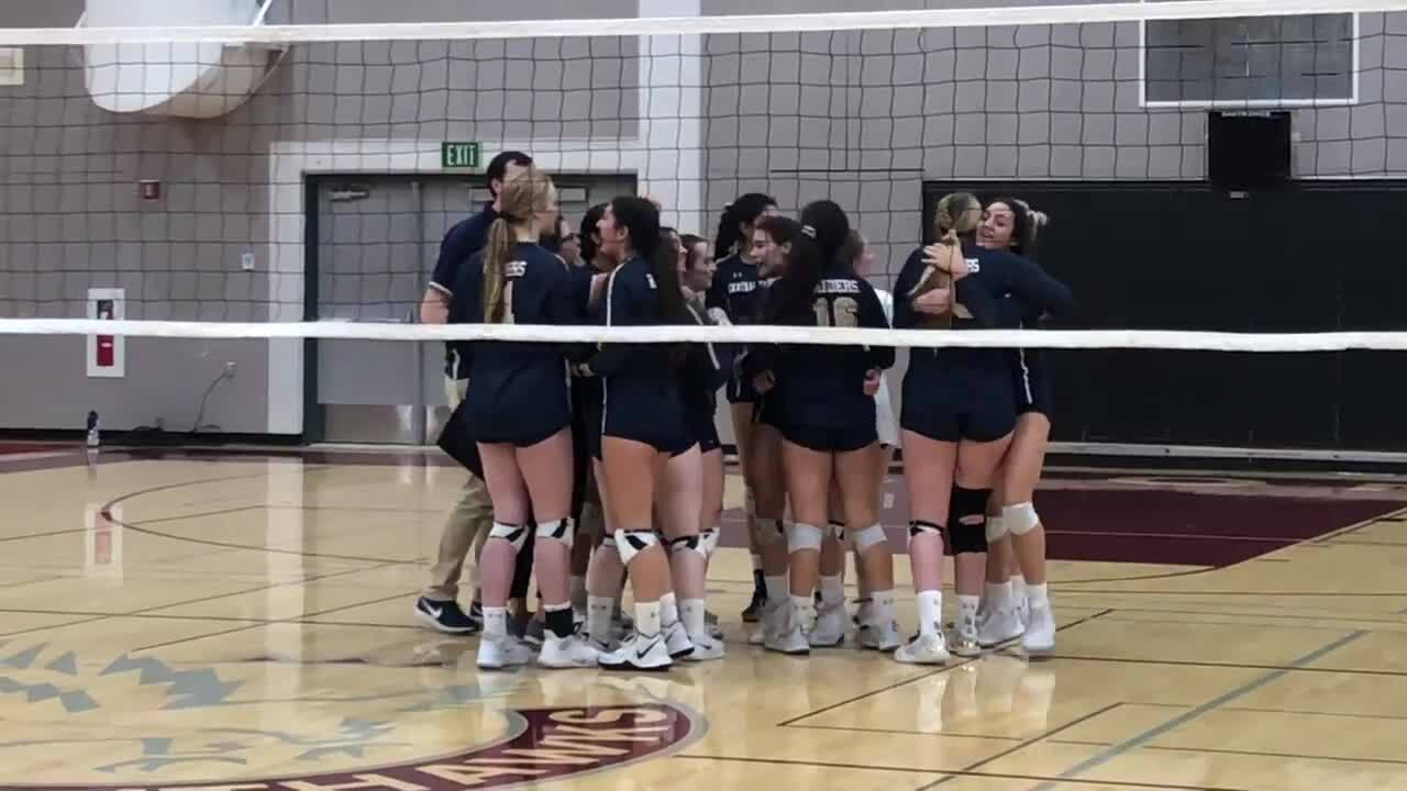 Central Catholic volleyball beats Nevada Union to win title; Escalon takes D4 title