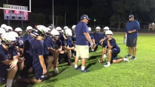 Watch highlights of Central Catholic's midnight football practice