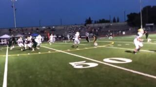 Watch the big plays from Pitman High's 55-7 win over Napa