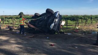 Man's leg amputated in crash on Highway 132 near Waterford