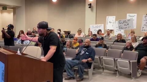 Man speaks out at Modesto City Council meeting against Forward Together initiative