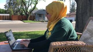 Syrian refugee student in Modesto talks about her future