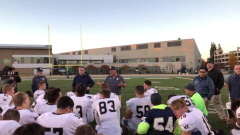 Here is what Central Catholic coach Roger Canepa told his team after a tough loss in CIF Sac-Joaquin Section Div. II title game