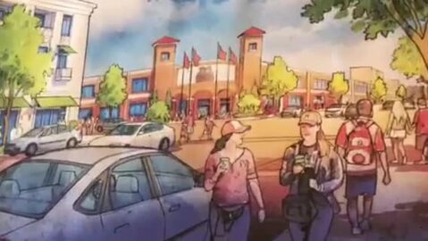 Apartments in the old jail? Artist renderings show ideas for downtown Modesto