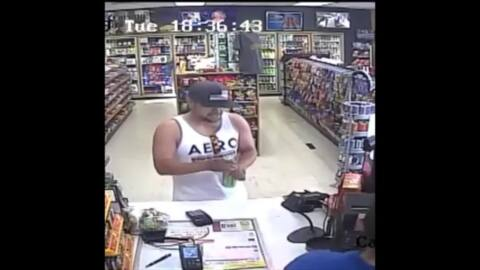 Man escaping with stolen cash knocked down, injured elderly customer, prosecutors say