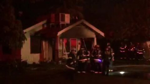 Fire damages house on Robertson Road near southwest Modesto