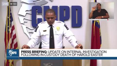 CMPD internal investigation recommends firing officers involved in Harold Easter's death