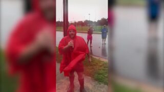 Social media users spoof viral Weather Channel reporter