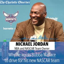 Why is Michael Jordan starting a NASCAR team?