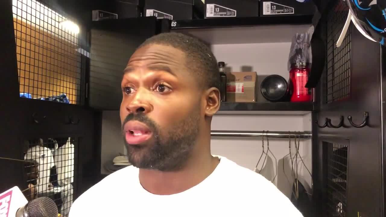 Panthers' Torrey Smith on Andrew Luck retiring: Money doesn't negate severe pain