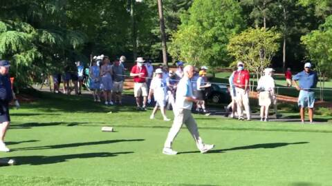 Former UNC Tar Heels coach Roy Williams at Wells Fargo Championship Pro-Am