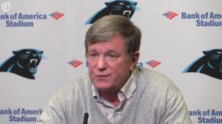 Marty Hurney thinks the Panthers are in a unique position