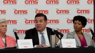 Clayton Wilcox, CMS superintendent, talks about testing water