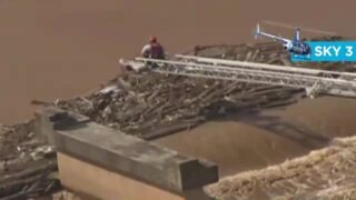 Crews rescue stranded kayaker from river in Gaston County