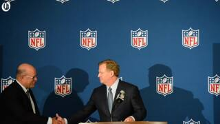 Roger Goodell introduces new Panthers owner David Tepper