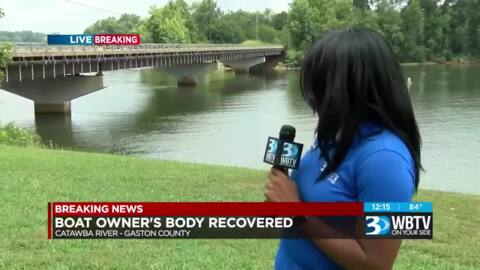 Fisherman's body found in South Fork Catawba River