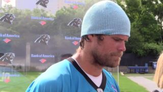 Panthers Greg Olsen talks about team's transition to new ownership