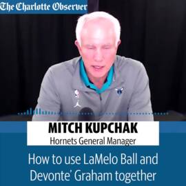 Hornets GM Mitch Kupchak on LaMelo Ball's fit in Charlotte