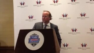 WVU coach Dana Holgorsen on connection to Charlotte: 'It's a tank of gas away'