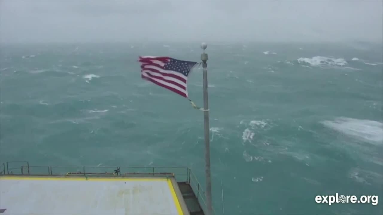 Tattered by Hurricane Dorian, 'Steve' the flag will be sold to help Outer Banks recover