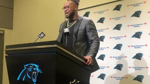Newly-signed Gerald McCoy discusses on-field fit with Panthers