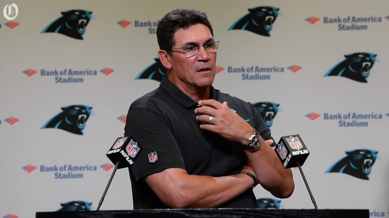 Panthers Ron Rivera frustrated following loss to Bucs
