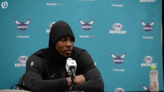 For the first time since his rookie season, Dwight Howard won't play in NBA playoffs