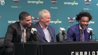 Hornets' 2018 draft picks are introduced to Charlotte