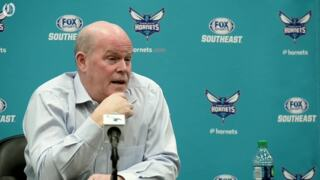 Hornets Coach Clifford talked about team's lack of spirit