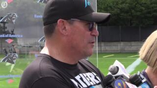 Ron Rivera discusses team's new owner, David Tepper