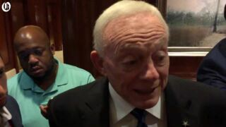 Jerry Jones gives strong endorsement to Panthers owner David Tepper